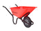 Crusader Wheelbarrow - Pneumatic, 120L - Orbit - Materials Handling - Lapwing UK