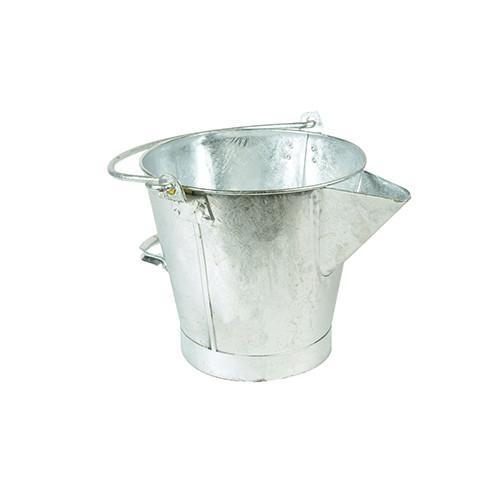 Galvanised Tar Bucket - Orbit - Tarmacker's Equipment - Lapwing UK