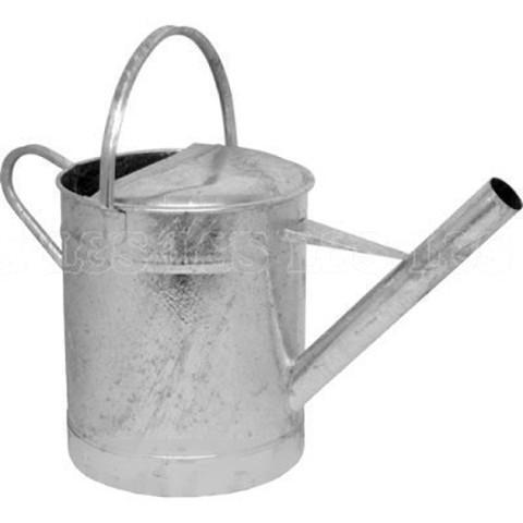 Galvanised Watering Can Wide Spout