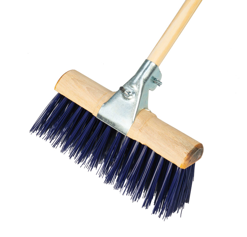 PVC Scavenger Broom With Metal Clasp - Orbit - Brooms - Lapwing UK