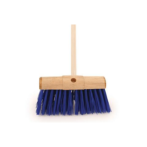 PVC Scavenger Broom With Rounded Top - Orbit - Brooms - Lapwing UK