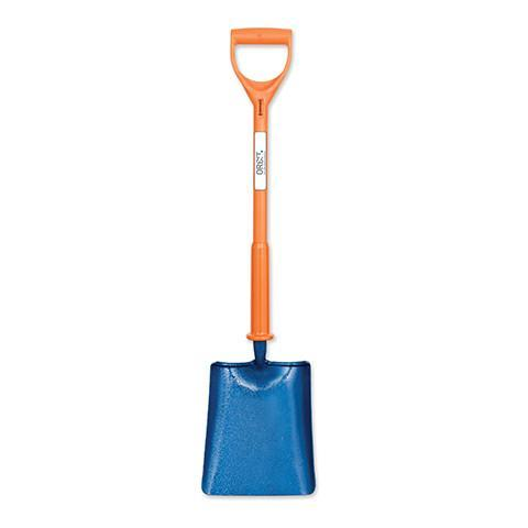Poly Fibre Insulated Shock-Pro Range Square Mouth Shovel - Orbit - Insulated Shovels & Tools - Lapwing UK