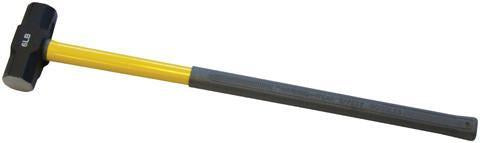 14lb Sledge Hammer with Fibre Glass Handle - Orbit - Picks & Striking Tools - Lapwing UK
