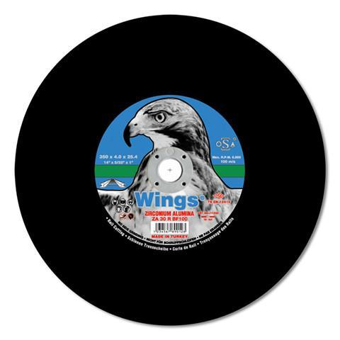 Wings Metal Rail Cutting Disc