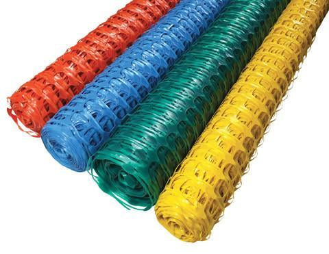 Green Safety Barrier Netting