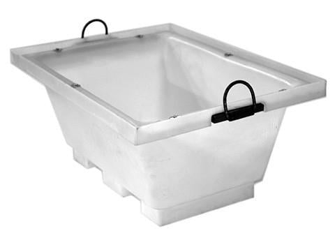 Motar Tubs with Crane Lifting Lugs