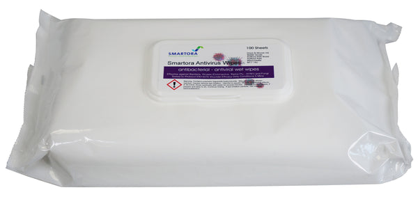 Antivirus Antibac Hand Wipes - Pack 100 - Orbit - Janitorial Supplies - Lapwing UK