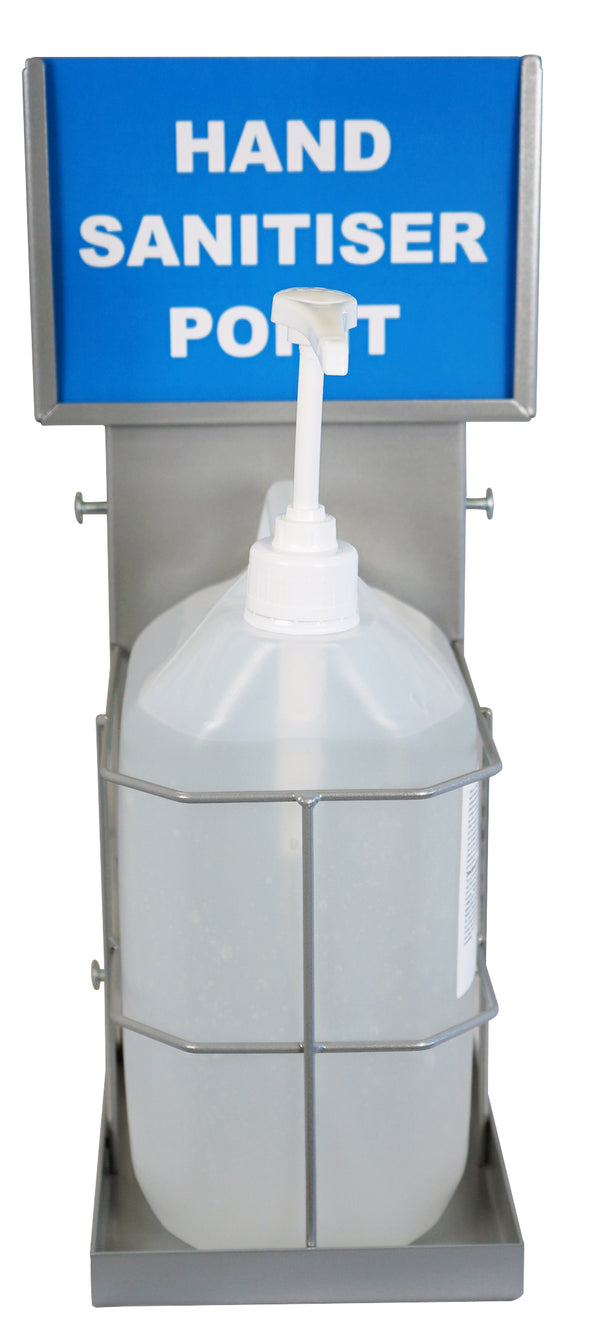Orbit Wall Mounted Sanitiser Station - Orbit - Hand Cleaners - Lapwing UK