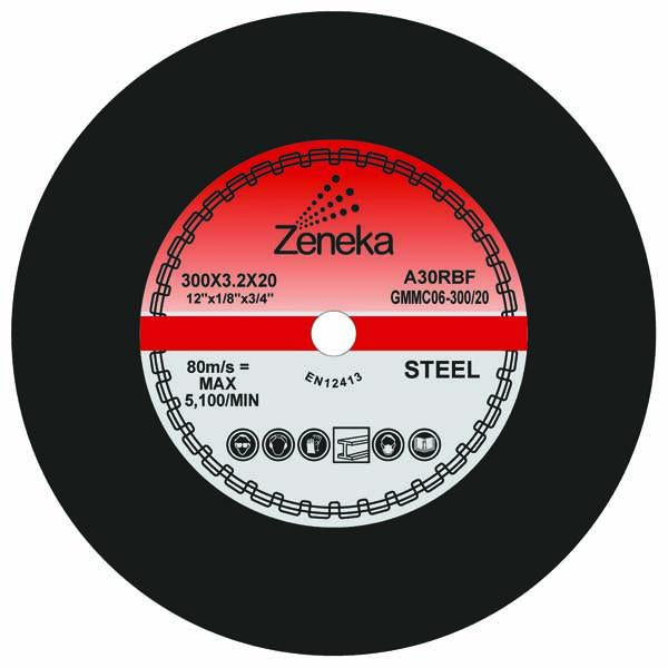 Zeneka Metal Cutting Discs - Zeneka - Abrasives, Cutting & Grinding - Lapwing UK