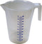 Plastic Measuring Jug with Spout - 5L - Orbit - Liquid Storage - Lapwing UK