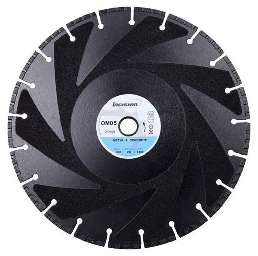 OM-05 Metal and Concrete Cutting Diamond Blade
