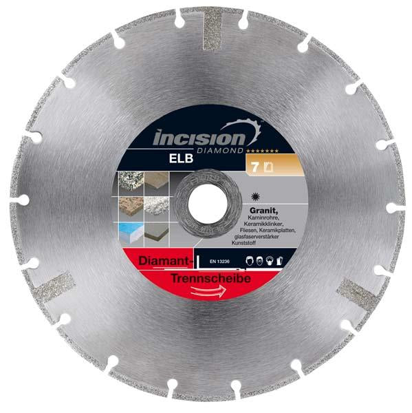 OM100-300/30 Omega Multi-Cut Diamond Blade - Incision - Specialist Blades - Lapwing UK