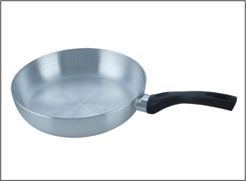 Polished Metal Fryingpan