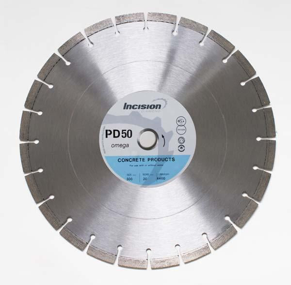 PD50-300/20 - Incision Placed Diamond Blade Concrete