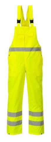 Yellow Hi Viz Bib & Brace - Azured - General Hi Vis - Lapwing UK