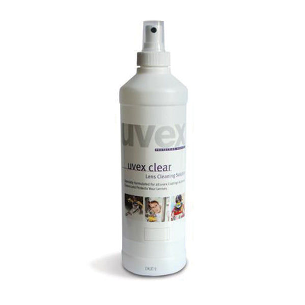 Uvex Cleaning Fluid - 16 FL.OZ - Azured - Eye Protection - Lapwing UK