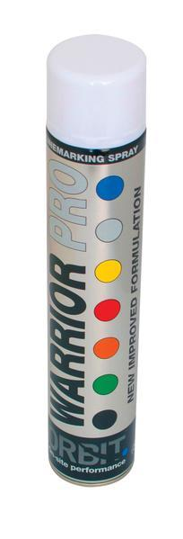 Warrior Pro Linemarker Paint 750ml - Orbit - Marking out Tools - Lapwing UK