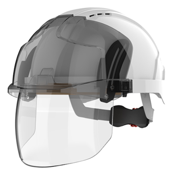 Evo Vistashield Helmet with Face Protection - LapwingUK - Head Protection - Lapwing UK