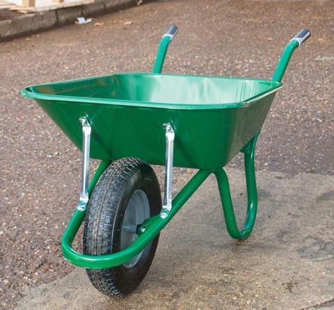 Haemmerlin Green 90L Wheelbarrow - Orbit - Materials Handling - Lapwing UK