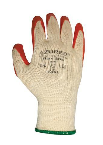 Titan Grip Latex Coated Glove - Azured - Hand Protection - Lapwing UK