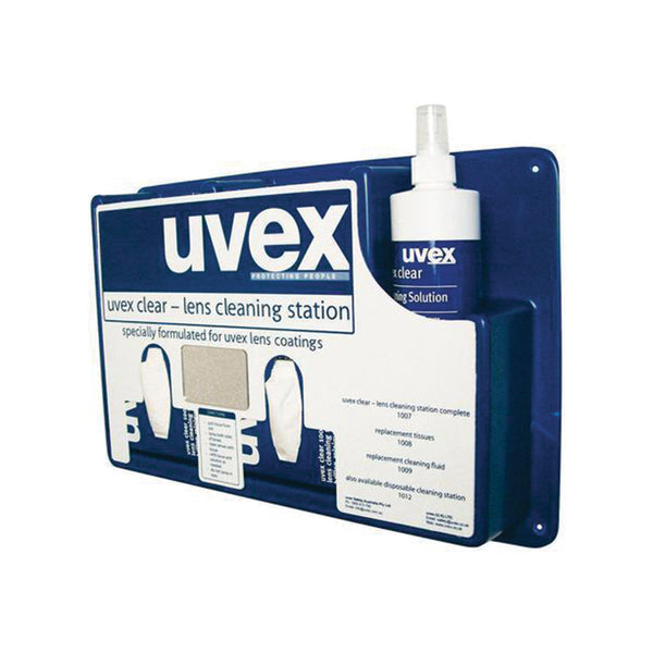Uvex Complete Cleaning Station - Azured - Eye Protection - Lapwing UK
