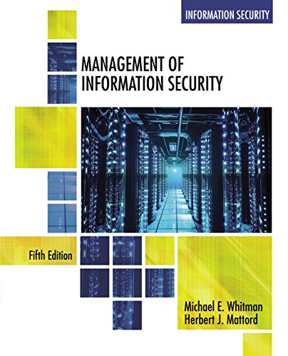 Management of Information Security (MindTap Course List)