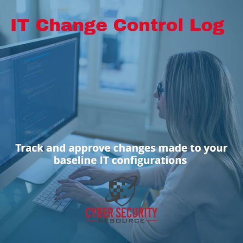 IT Change Control Log