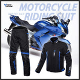 Detachable Motorcycle Motorbike Riding Jacket Waterprof Motorcycle Full Body Protective Gear Armor summer/winter Moto Clothing