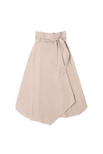 Load image into Gallery viewer, Beige Wrap Skirt