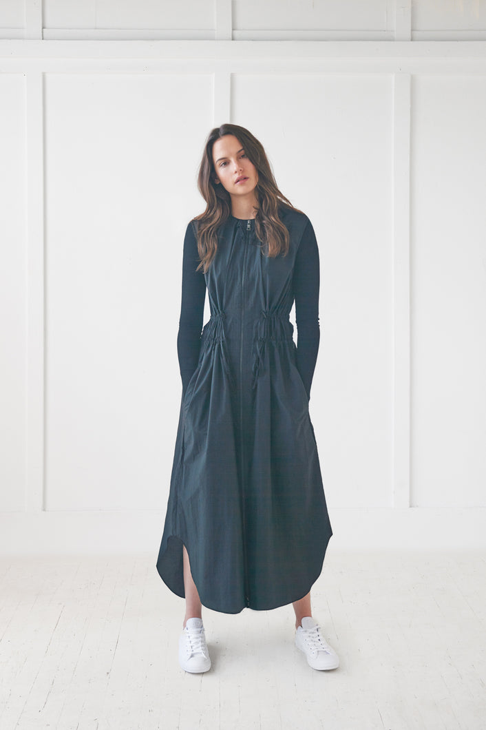 Maxi Raincoat Dress