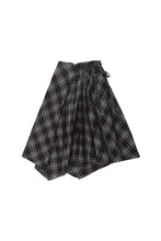 Load image into Gallery viewer, Scrunched Plaid Skirt