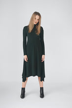 Load image into Gallery viewer, Ribbed Sweater Dress