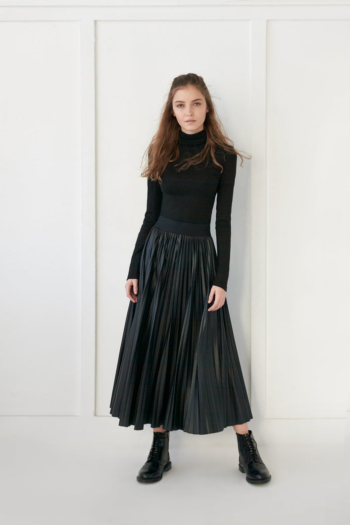 Pleated Skirt - Unaya women's modest tops skirts dresses jewish girls conservative clothing fashion apparel