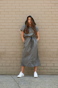 Hooded Dress - Unaya women's modest tops skirts dresses jewish girls conservative clothing fashion apparel