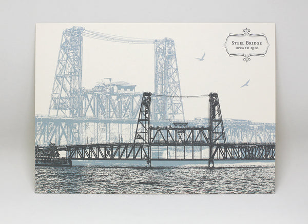 Steel Bridge Postcard (single)