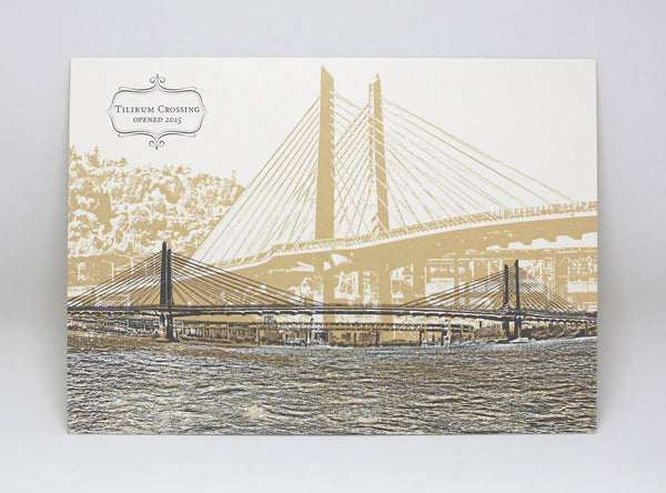 Tilikum Crossing Bridge Postcard