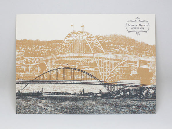 Fremont Bridge Postcard