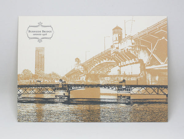 Burnside Bridge Postcard