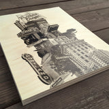 Leaning Tower of Portland - Wood Print