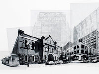Portland Fine Art -- The Pearl District -- Original Art Print -- Photographic Etching -- Photography -- Oregon