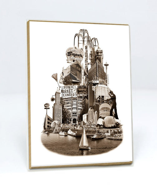 ON SALE!! -- Tower of Seattle Notecards -- Seattle, Washington -- Single or a Set of 6
