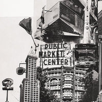 Portland Fine Art -- Tower of Seattle -- Original Art Print -- Photographic Etching -- Photography -- Washington