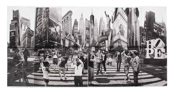 New York City Fine Art -- I am an Artist Not a Tourist -- Original Art Print -- Photographic Etching --Photography --  NYC