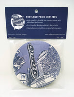 Portland Coasters -- Marquees of Portland Oregon -- 16pt Pulp -- Most famous signs in PDX