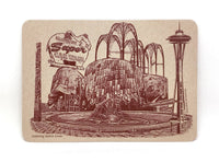 Seattle Postcards -- Landmarks of Seattle --  Set of 8 -- NEW!!