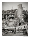 Portland Archival Pigment Print -- Westside Portland Landmarks -- Photomontage -- Limited Edition Fine Art Print -- Photo Collage