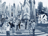 NYC Archival Pigment Print -- I Hope to be an Artist in NYC -- Photomontage -- Limited Edition Fine Art Print -- Photo Collage
