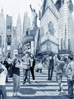 NYC Archival Pigment Print -- NYC Sightseeing -- Photomontage -- Limited Edition Fine Art Print -- Photo Collage