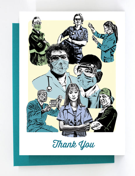 Thank You Covid-19 Medical Heroes