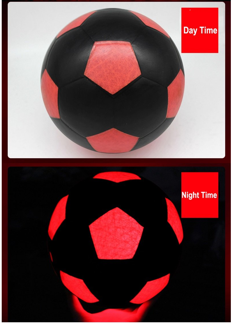 LED Football in Night